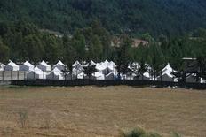 <p>Палаточный лагерь для беженцев в городе Яйладаги на турецкой границе 8 июня 2011 года. Турция открыла в среду границу для сирийских беженцев и призвала власти соседней страны остановить насилие над гражданским населением. REUTERS/Anatolian/Erdal Turkoglu</p>