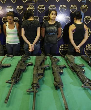 Mexican teenage girls train as drug cartel killers - Reuters