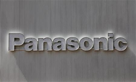 Panasonic's logo is seen on an electronics shop's wall in Tokyo April 28, 2011. REUTERS/Kim Kyung-Hoon