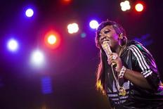 <p>U.S. hip-hop singer Missy Elliott performs onstage during the 44th Montreux Jazz Festival in Montreux July 5, 2010. REUTERS/Valentin Flauraud</p>