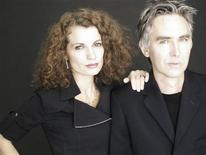"""<p>Writers Alexandra and Alexander Ahndoril, who use the pseudonym """"Lars Kepler"""", in an undated image. REUTERS/Handout</p>"""