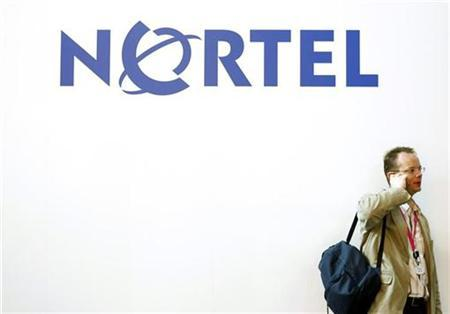 A Nortel sign at the 2009 GSMA Mobile World Congress in Barcelona. REUTERS/Albert Gea