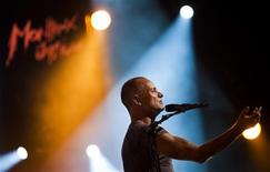 <p>British musician Sting performs onstage during the 45th Montreux Jazz Festival in Montreux July 11, 2011. REUTERS/Valentin Flauraud</p>