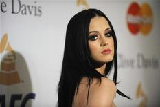 <p>Katy Perry attends the Pre-Grammy Gala & Salute to Industry Icons with Clive Davis in Beverly Hills, California, February 12, 2011. REUTERS/Phil McCarten</p>