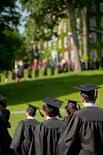 <p>Students attend the commencement at Williams College in Williamstown, Massachusetts, June 5, 2011. REUTERS/Williams College/Handout</p>