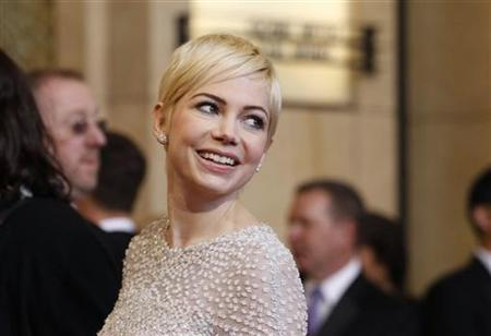 Michelle Williams, best actress nominee for her role in ''Blue Valentine'', arrives at the 83rd Academy Awards in Hollywood, California, February 27, 2011. REUTERS/Mario Anzuoni