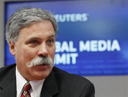 Chase Carey, President, Chief Operating Officer and Deputy Chairman of News Corporation, speaks during the Reuters 2010 Global Media Summit in New York November 29, 2010. REUTERS/Shannon Stapleton