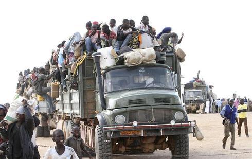 Along the Libya-Niger border
