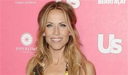 <p>Singer Sheryl Crow arrives at the Us Weekly Hot Hollywood Style Issue Event in Hollywood, California April 22, 2010. REUTERS/Gus Ruelas</p>