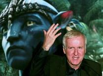 """<p>Canadian director James Cameron attends the launch of the movie """"Avatar"""" in Blu-Ray Disc and DVD in Sao Paulo April 11, 2010. REUTERS/ Fernando Donasci</p>"""