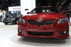 <p>A Toyota Camry as seen at the Chicago Auto Show February 9, 2010. REUTERS/John Gress</p>