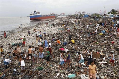 Typhoon Nesat aftermath
