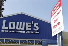 <p>A specially designated parking spot for Lowes.com shoppers is pictured in the parking lot at the Lowe's Home Improvement Warehouse in Burbank, California August 15, 2011. REUTERS/Fred Prouser</p>