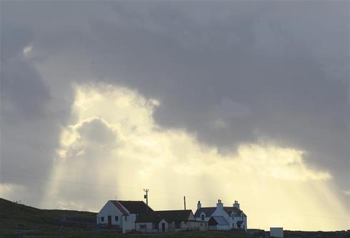 Scotland's isolated isle