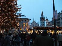 <p>Christmas Market, Marienplatz, Munich, Germany is photographed on December 2010 with the picture taken by Ryan Rucker of Wilmington, Ohio. REUTERS/VirtualTourist.com/Handout</p>