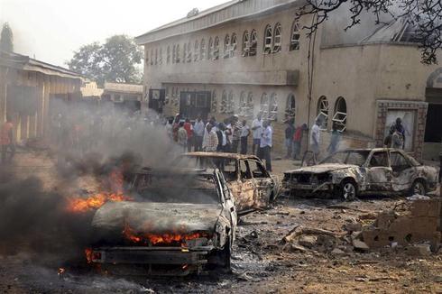 Nigeria churches attacked