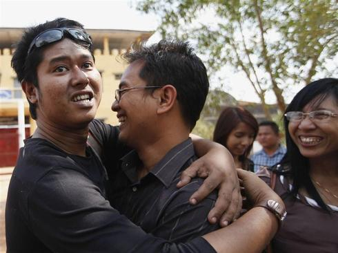 Freedom from Myanmar's prisons
