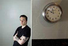 """<p>Damien Echols, producer and subject of the documentary film """"West of Memphis,"""" poses for a portrait during the Sundance Film Festival in Park City, Utah, January 21, 2012. REUTERS/Lucas Jackson</p>"""