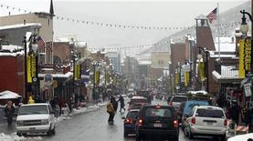 <p>A general view of Main Street during the Sundance Film Festival in Park City, Utah January 23, 2012. REUTERS/Mario Anzuoni</p>