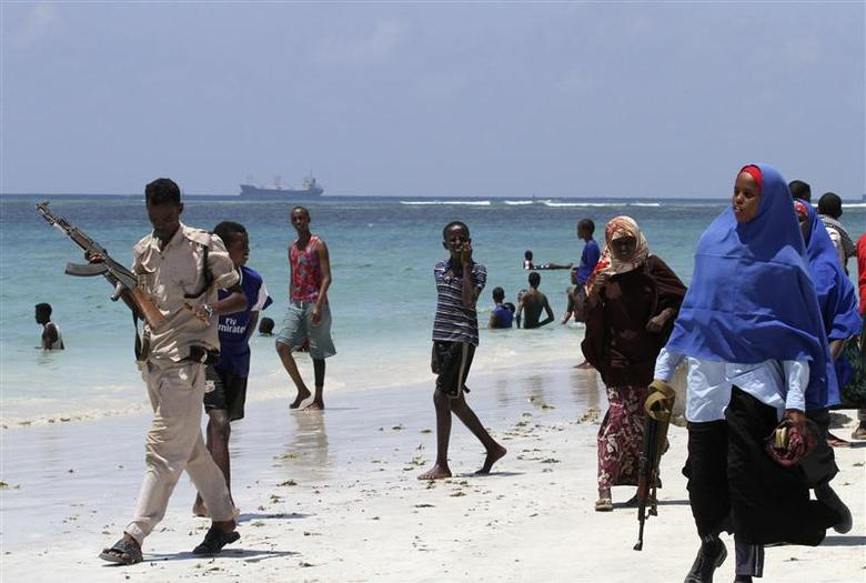 A Day At The Beach In Somalia Reuters