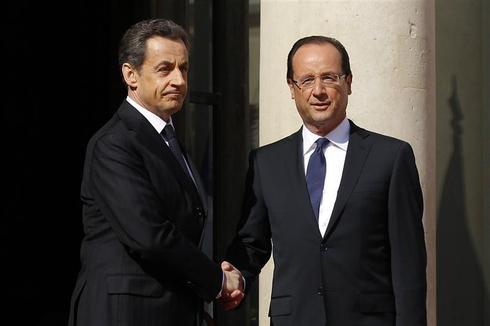 Sarkozy hands over the reins