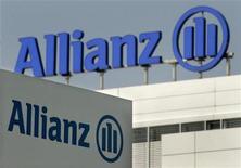 <p>Allianz France et Groupama ont conclu des accords définitifs relatifs à l'acquisition par le groupe allemand des activités courtage de Gan Eurocourtage, filiale de l'assureur français. /Photo d'archives/REUTERS</p>