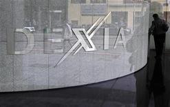 <p>Dexia a besoin de 90 milliards d'euros de garanties financières et cherche pour cela à obtenir l'approbation de la Commission européenne, a déclaré vendredi l'administrateur délégué de la banque franco-belge, Pierre Mariani. /Photo d'archives/REUTERS/Thierry Roge</p>