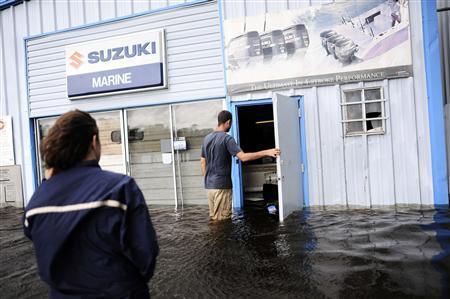 tropical storm debby rains misery on flooded florida