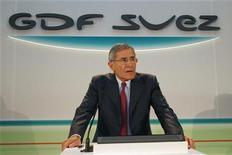 <p>Gérard Mestrallet, le PDG de GDF Suez. L'énergéticien français a finalisé le rachat des 30% du britannique International Power qu'il ne détenait pas encore, afin de se renforcer dans les pays émergents. /Photo d'archives/REUTERS/John Schults</p>