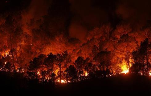 Wildfires in Spain