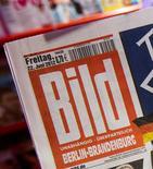 <p>Axel Springer, éditeur du quotidien allemand Bild, a enregistré une hausse supérieure aux attentes de son bénéfice trimestriel grâce à ses activités numériques. /Photo prise le 22 juin 2012/REUTERS/Thomas Peter</p>