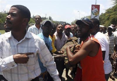 Violent protests in Kenya