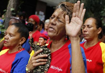 Praying for Chavez