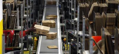 Amazon logistics centre