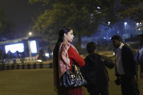 Delhi women on guard