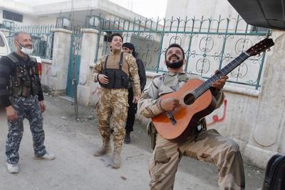 Off-duty rebels