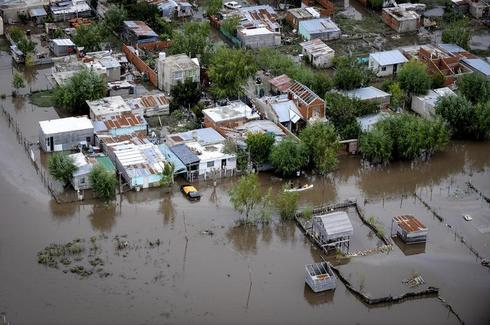 Flooding in Argentina