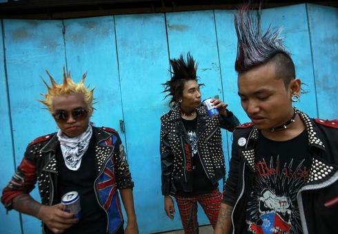 Myanmar punks