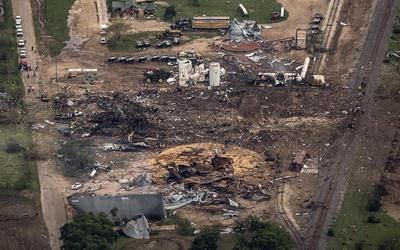 Explosion in Texas