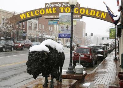 Spring snow in Colorado