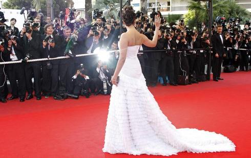 Flashback - Aishwarya at Cannes
