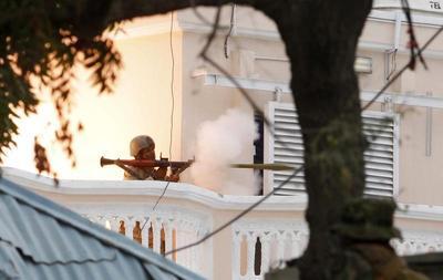 Somali rebels attack UN base