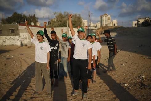 Gaza's summer camps