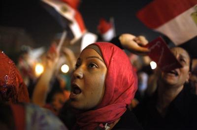 The overthrow of Mursi