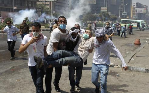 Egypt clears protesters