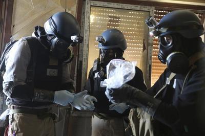 U.N. investigates gas attack