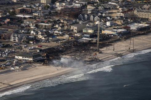 New Jersey boardwalk blaze