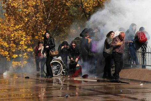 Tear gas in Turkey