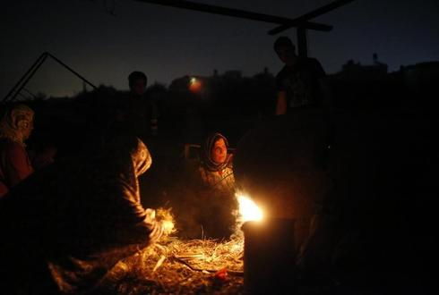 Gaza without power