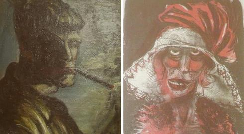 Stolen Nazi paintings found